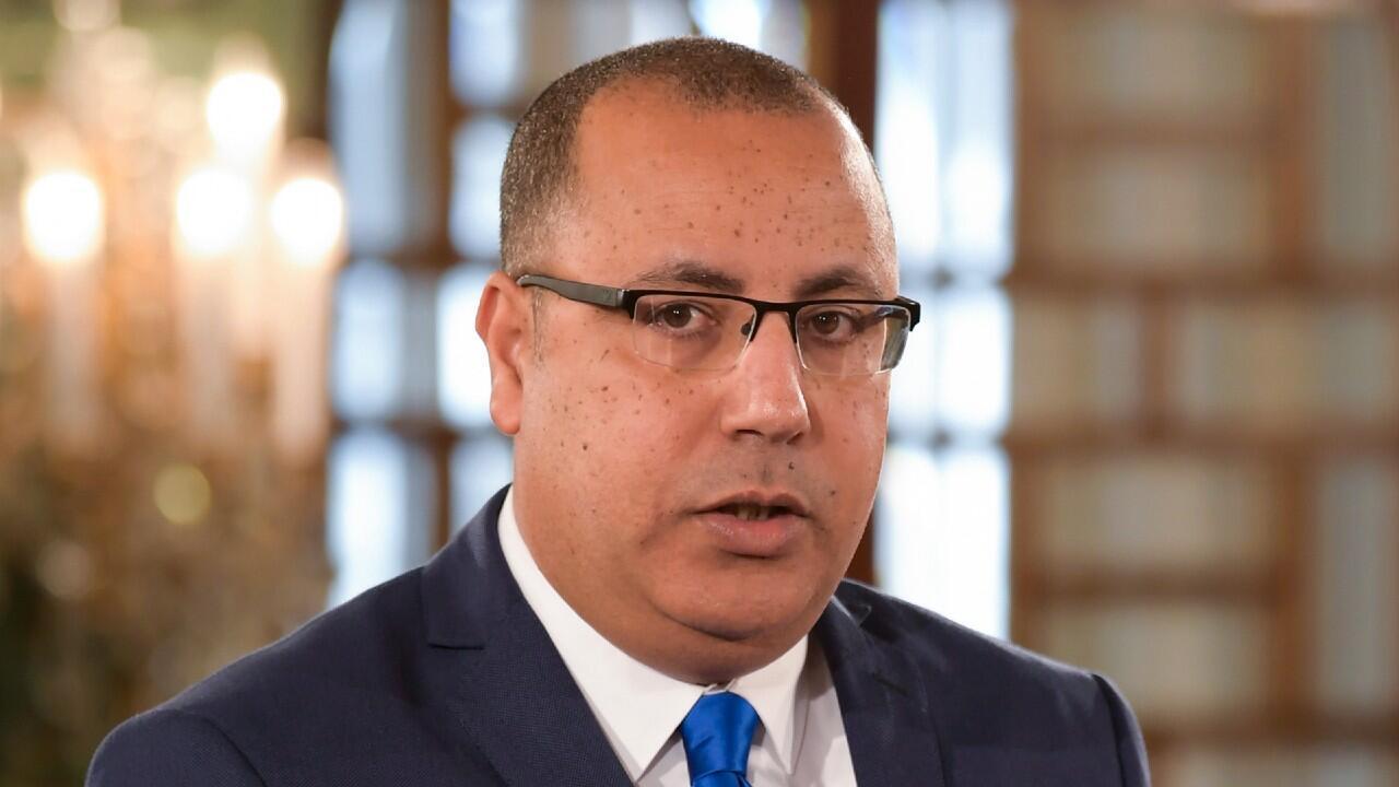 Hichem Mechichi el 27 de febrero de 2020 en la capital de Túnez.