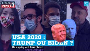 USA 2020. Trump ou Biden ?