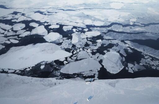 Arctic sea ice shrunk this summer to its second-lowest level ever.
