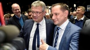Newly-elected chairmen of Germany's far-right Alternative for Germany (AfD) party November 30 2019 Reuters OK