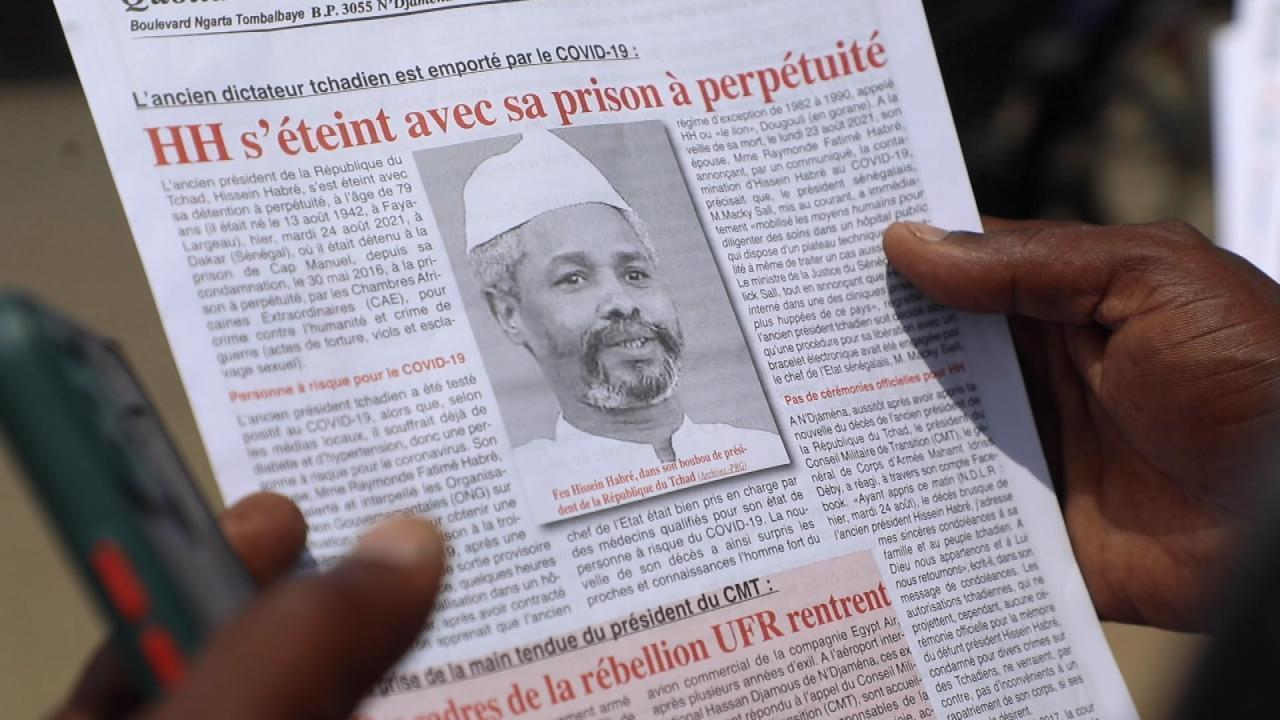 Mort d'Hissène Habré : les victimes tchadiennes du régime demandent encore réparation