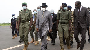 Goodluck Jonathan in Mali