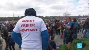 2021-04-04 14:36 Europa: miles de personas protestan contra las restricciones por el Covid-19