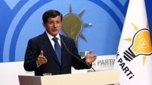 Le Premier ministre turc Ahmet Davutoglu n'a pu former un gouvernement de coalition.