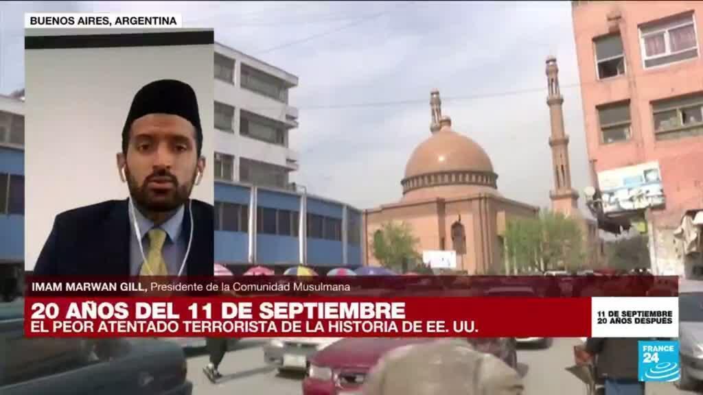 """2021-09-11 16:40 Imam Marwan Gill: """"Los grupos fundamentalistas quieren manchar el nombre del islam"""""""