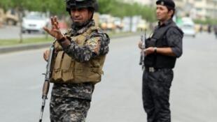 دورية للشرطة العراقية في بغداد