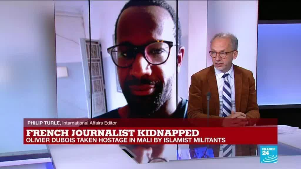 2021-05-05 15:01 French journalist kidnapped: Dubois appears in a video asking authorities to free him