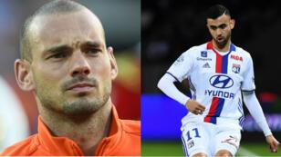 Wesley Sneijder et Rachid Ghezzal ont signé lundi 7 août à l'AS Monaco et à l'OGC Nice.