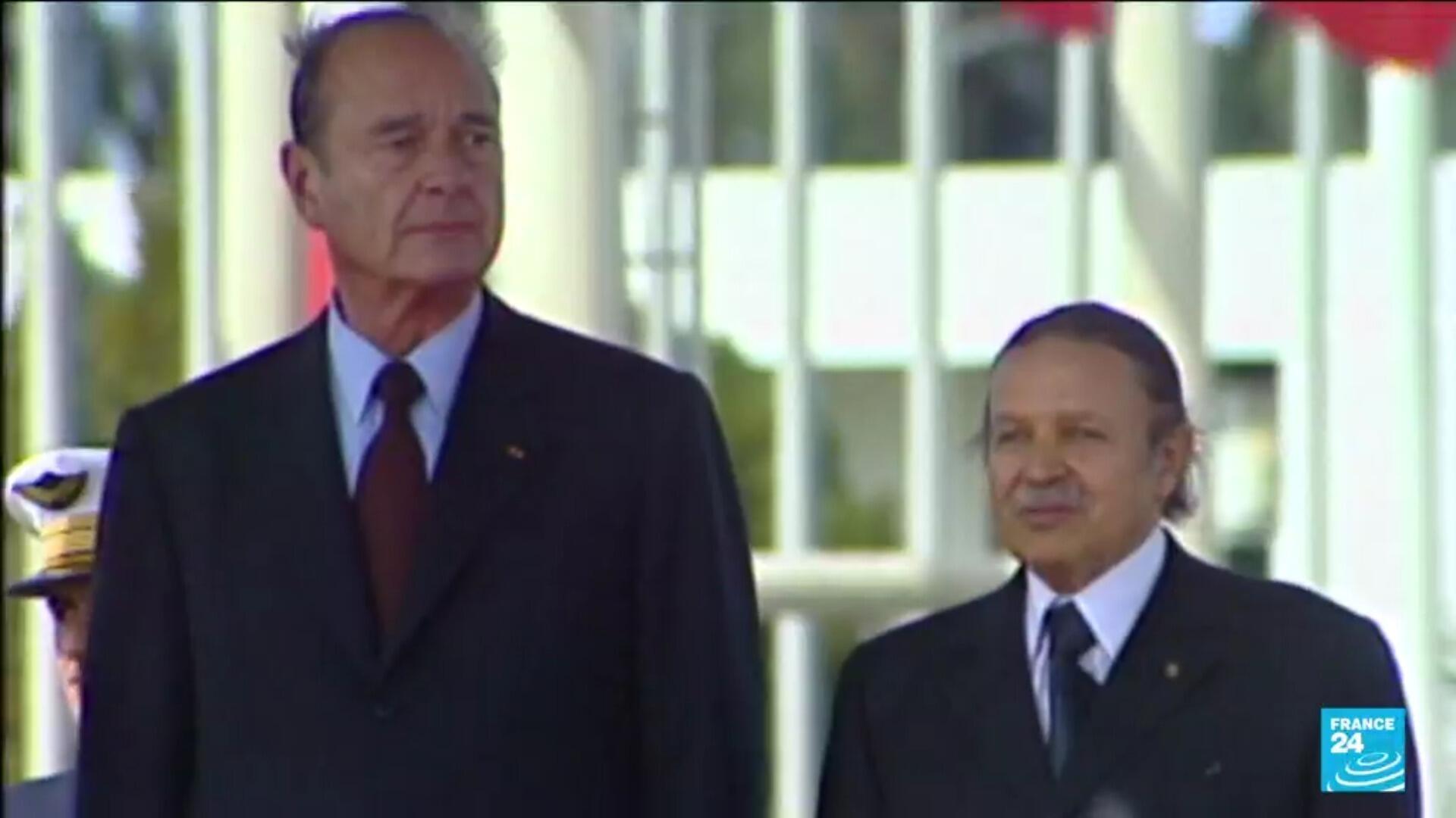 Chirac - Bouteflika 1