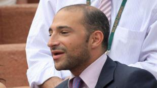 Thomas Fabius, photographié à Roland Garros en 2007.