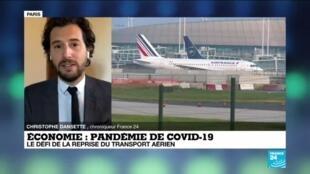 2020-06-01 10:17 Pandémie de Covid-19 : le défi de la reprise du transport aérien