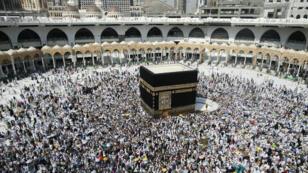 Des milliers de pélerins à la Mecque, en Arabie Saoudite, le 14 septembre 2016.