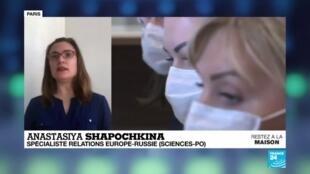 2020-03-27 13:05 Coronavirus - Covid-19 : Où en est l'épidémie en Russie ?