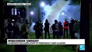 2020-08-26 10:02 Wisconsin governor to boost Guard presence as unrest grows