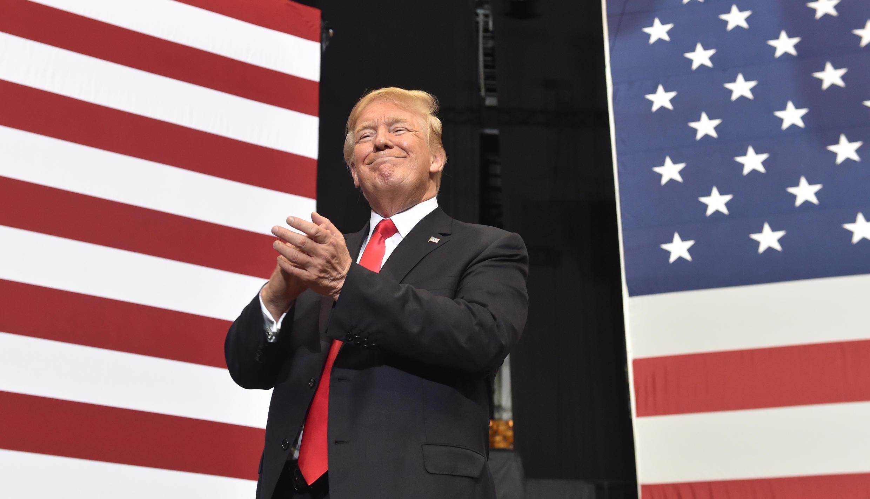Le président américain Donald Trump à Nashville, Tennessee, le 29 mai 2018.
