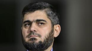 Négociateur en chef de l'opposition, Mohammad Allouche est aussi le leader du puissant groupe rebelle Jaïch al-Islam.