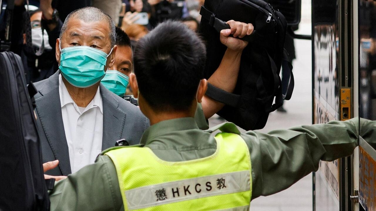 Hong Kong tycoon Jimmy Lai among democracy leaders jailed for protests