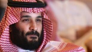 ولي العهد السعودي الأمير محمد بن سلمان خلال منتدى للاستثمار في الرياض الأربعاء 24 تشرين الأول/أكتوبر 2017