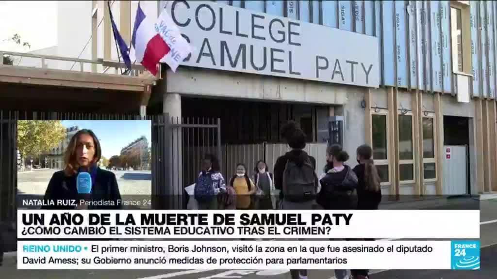 2021-10-16 17:02 Informe desde París: ¿cómo cambió el sistema educativo en Francia tras el asesinato de Samuel Paty?