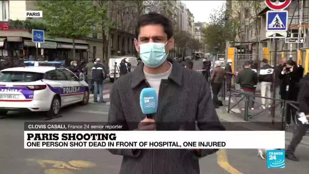 2021-04-12 16:05 One dead, one injured in Paris hospital shooting