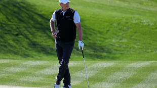 American Steve Stricker on the way to a five-under par 66 and a share of the clubhouse lead early in the second round of the US PGA Tour Phoenix Open