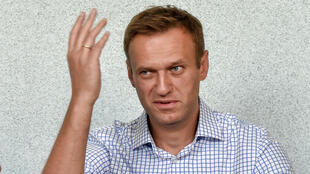Russian opposition leader Alexei Navalny attends a hearing at a court in Moscow on June 24, 2019.