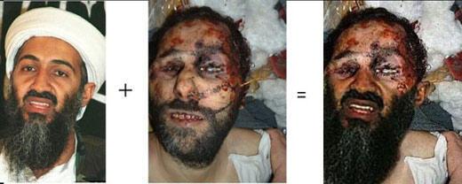 Photo truquée d'Oussama Ben Laden