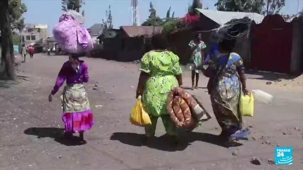 Goma residents return