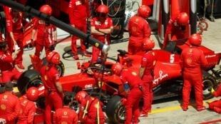 Ferrari's German driver Sebastian Vettel last won the world championship in 2013