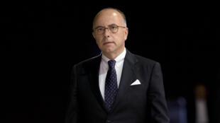 Le ministre français de l'Intérieur, Bernard Cazeneuve, le 3 septembre 2014