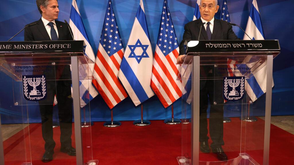 """Conflit Israël-Palestine : le chef de la diplomatie américaine veut éviter que le Hamas """"bénéficie"""" de l'aide à la reconstruction de Gaza"""