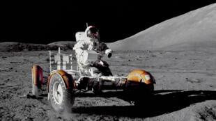 Appollo 17, la dernière mission lunaire.