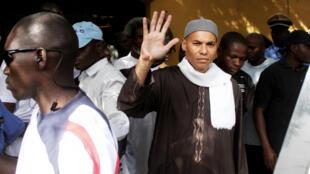 Karim Wade lors de son arrestation en avril 2013 à Dakar.