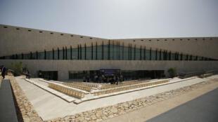 Le Musée palestinien a été inauguré le 18 mai 2016 par Mahmoud Abbas, dans la ville de Bir Zeit, près de Ramallah, en Cisjordanie.