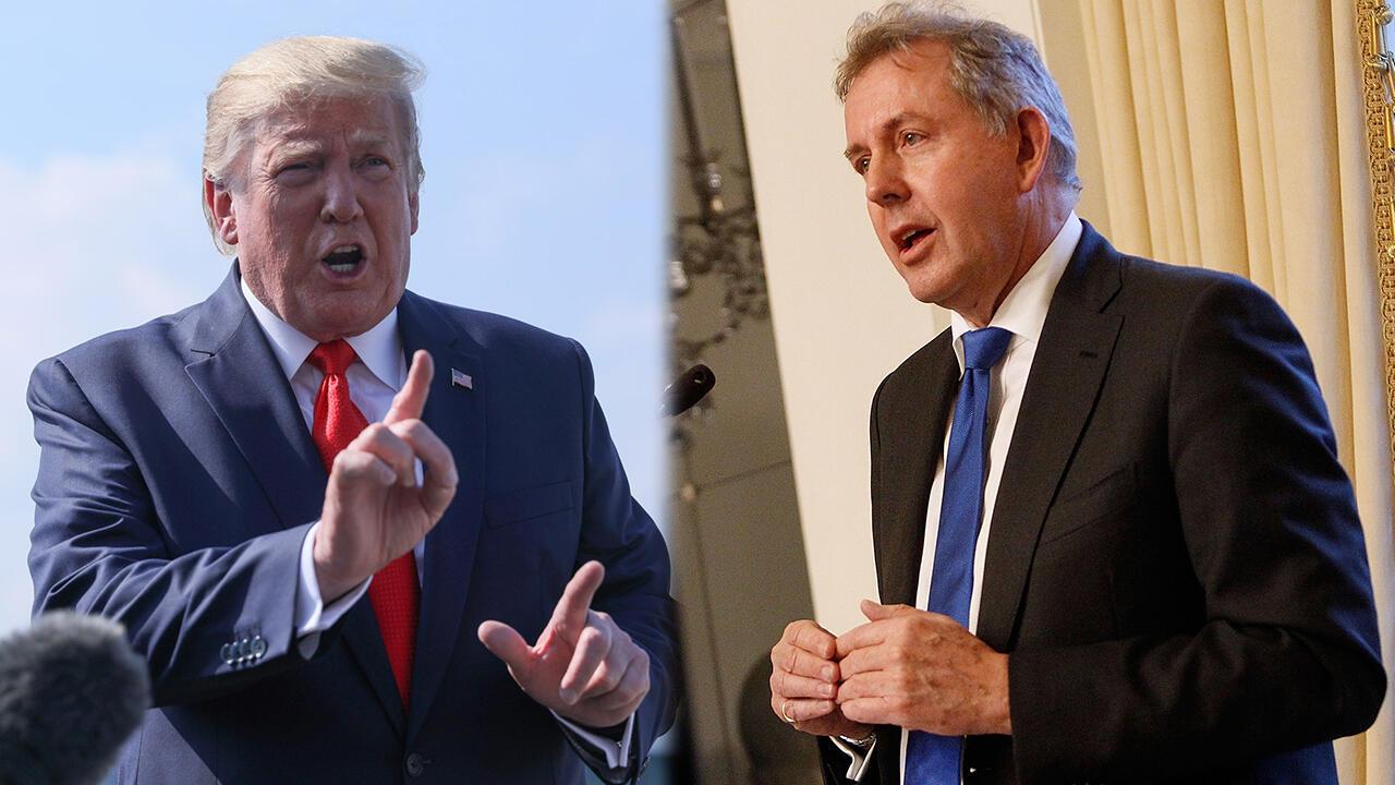 """El embajador del Reino Unido Kim Darroch, califica de """"inepta"""" la forma de gobernar del presidente Trump."""