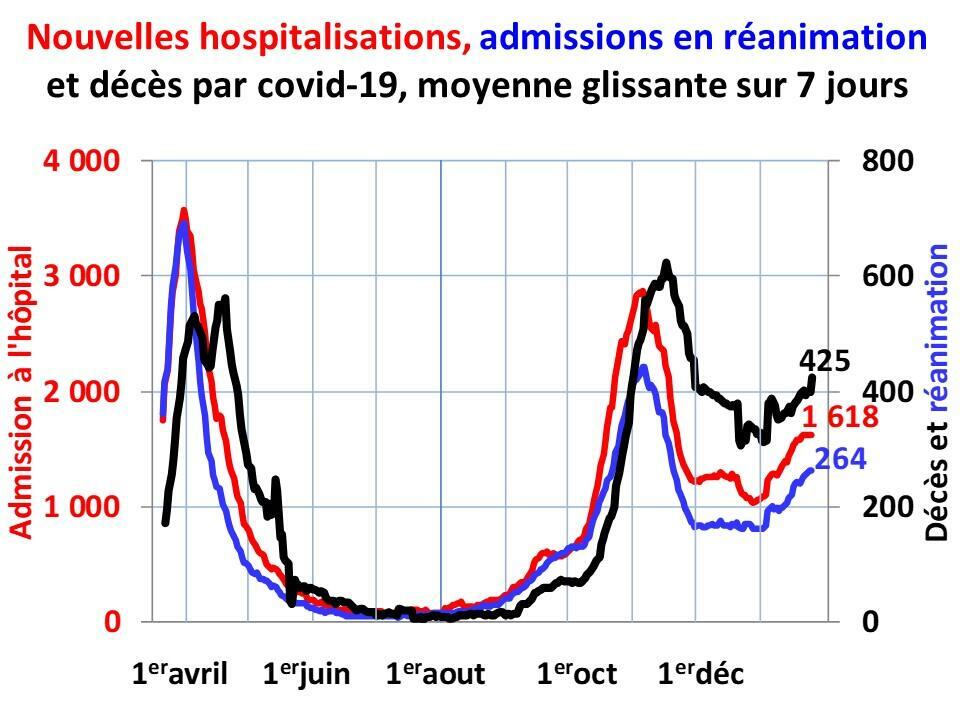 The dynamics of France's Covid-19 epidemic.