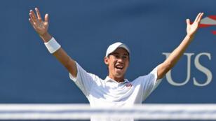 Le Japonais Kei Nishikori sera le premier Asiatique à jouer une finale de Grand Chelem