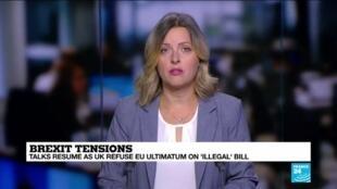 2020-09-11 10:11 Talks resume as UK refuses EU ultimatum on 'illegal' Brexit bill