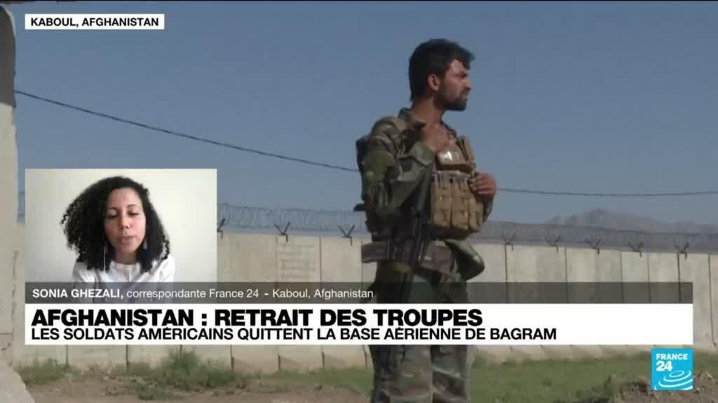2021-07-02 10:11 Les forces étrangères quittent la base aérienne de Bagram et bientôt l'Afghanistan