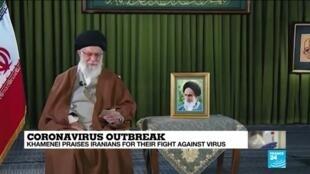 2020-03-20 13:08 Coronavirus: On the first day of Nowruz, Khamenei praises Iranians for their fight against virus