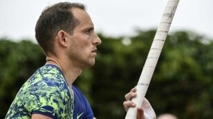 """French pole vaulter Renaud Lavillenie said his performance during the """"Envol"""" meeting at the Brotillon stadium in Pierre-Benite near Lyon was """"rubbish"""""""