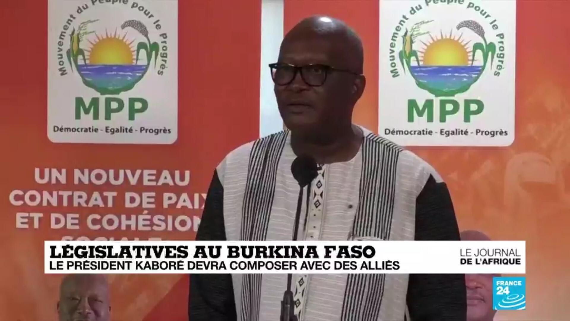 La président du Burkina Faso, Roch Kaboré, réélu pour un second mandat
