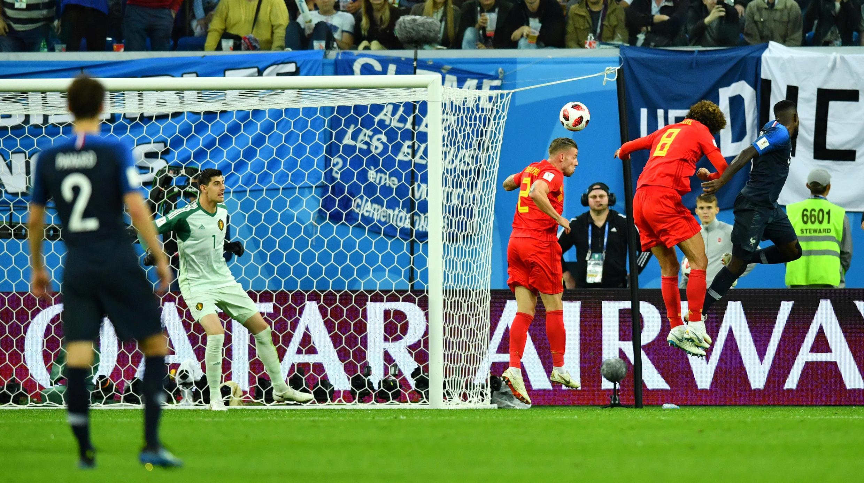 El gol de cabeza de Samuel Umtiti en el segundo tiempo dejó atrás a los 'Diablos Rojos'.