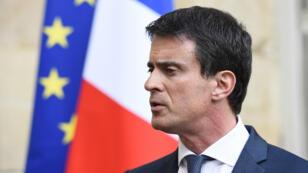 """Le Premier ministre Manuel Valls accuse Nicolas Sarkozy de """"perdre ses nerfs"""""""