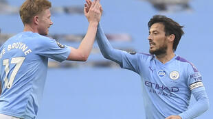 Kevin De Bruyne (left) and David Silva (right) formed the perfect midfield partnership for Pep Guardiola's Manchester City