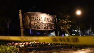 المكان الذي تعرض لإطلاق النار في مدينة فرجينيا بيتش في ولاية فرجينيا 31 مايو/أيار 2019