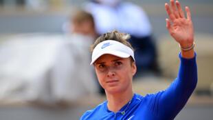Third quarter-final for Ukraine's Elina Svitolina