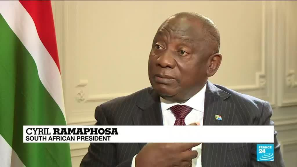 2021-05-19 13:05 South African president tells FRANCE 24 the situation in Gaza 'brings back memories of apartheid'