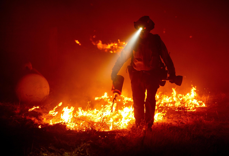 حرائق غير مسبوقة تجتاح الساحل الغربي للولايات المتحدة. 9 سبتمبر/أيلول 2020.