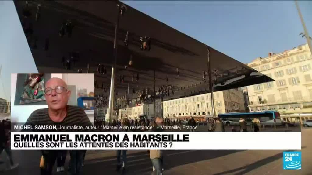 2021-09-01 13:15 Emmnauel Macron à Marseille : éducation, sécurité...objectif : rattraper les retards